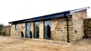 Barn conversion - from rubble to luxury Sheffield