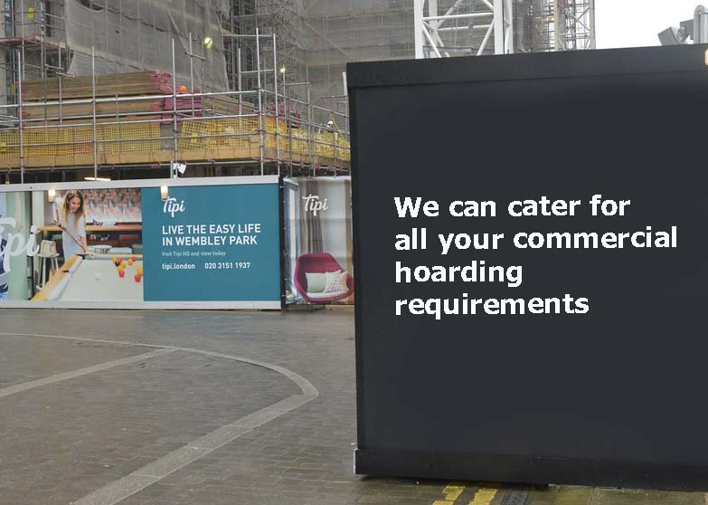 Commercial Hoarding